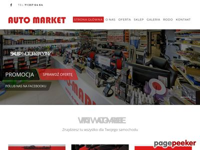 Sklep motoryzacyjny Wrocław
