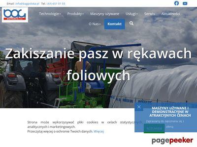 Maszyny i usługi rolnicze BAG Polska Sp. z o.o.