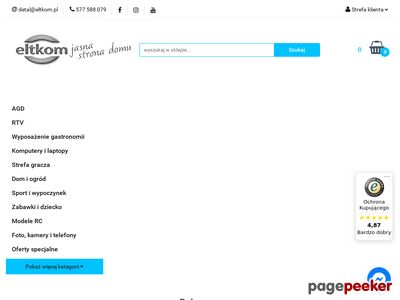 Eltkom - wysokiej jakości elktronika, AGD i RTV