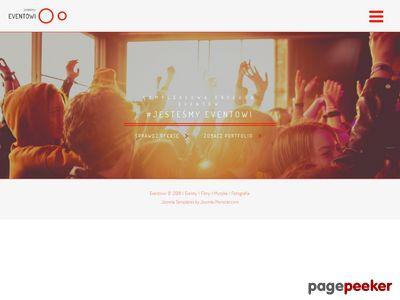 Eventowi.waw.pl - obsługa muzyczna imprez, światło i dźwięk.