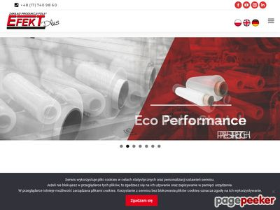 Czarna Folia Stretch