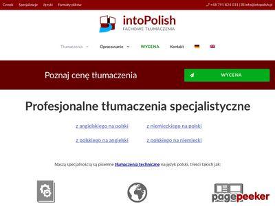Tłumacz niemiecki i angielski