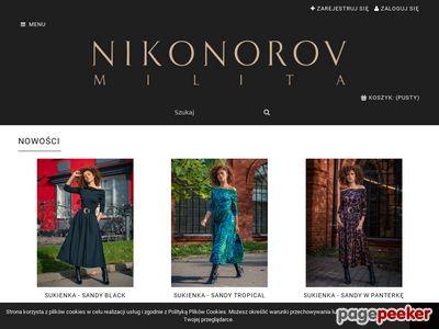 Milita Nikonorov suknie ślubne i wieczorowa