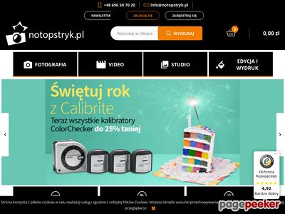 Sklep internetowy Notopstryk.pl