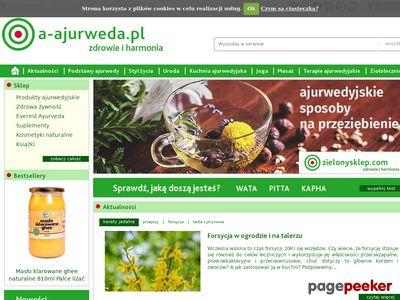 Ajurweda, ayurveda - a-ajurweda.pl