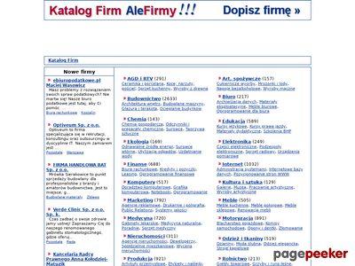 Firmy elektroniczne w AleFirmy.pl