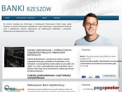 Banki Rzeszów