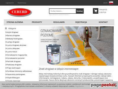 Sprzęt drogowy - sklep internetowy