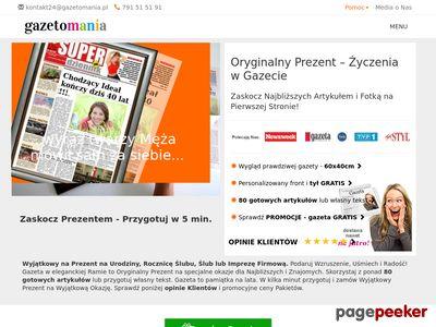 Oryginalny Prezent! Gazetomania.pl
