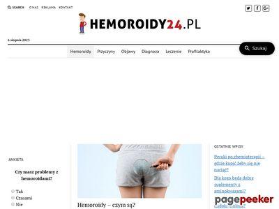 Hemoroidy - kompleksowe informacje