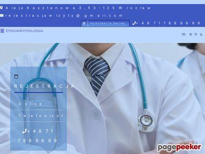 Endokrynologia leczenie tarczycy endokrynolog Wrocław