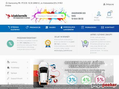 Lakierowanie i pielęgnacja dla Twojego Samochodu - Sklep Internetowy Klakiernik.pl