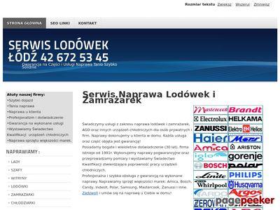 Naprawa Lodówek i Zamrażarek Łódź