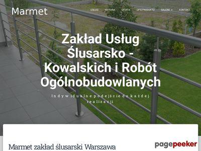 Marmet - Zakład Usług Ślusarsko – Kowalskich