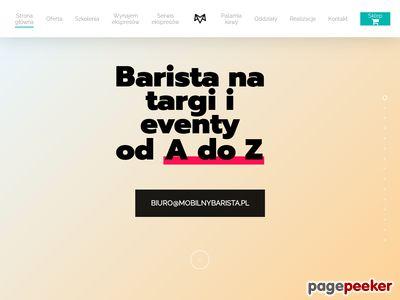 Mobilny Barista Marcin Zalewski