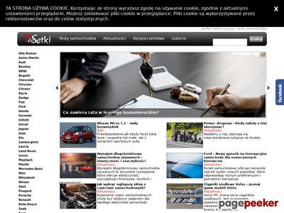 Darmowy katalog stron samochodowych