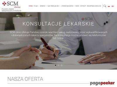 SCM Sp. z o. o. Prywatny Szpital Specjalistyczny