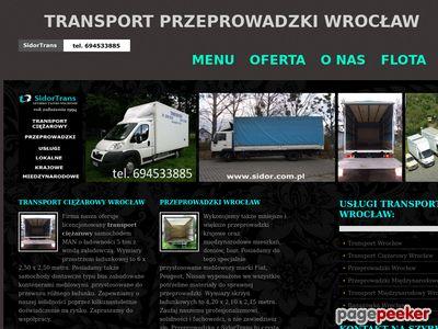 Międzynarodowe Przeprowadzki Wrocław