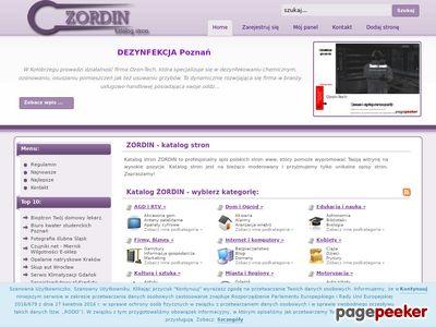 Katalog stron www - Zordin