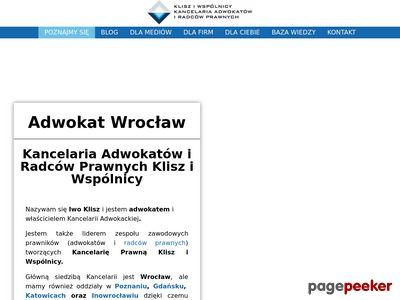 Kancelaria adwokacka we Wrocławiu