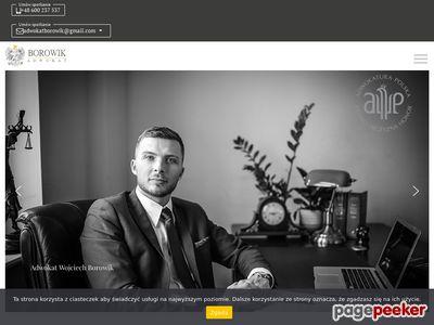 Kancelaria Adwokacka - adwokatborowik.pl