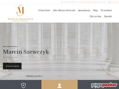Kancelaria prawa karnego Olsztyn - adwokatszewczyk.eu