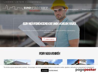 Euro-Projekt Tomasz Jacyniewicz - projektowanie domów w Biłymstoku
