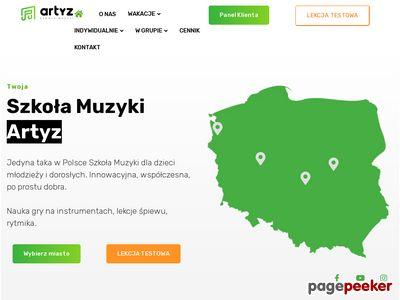 Artyz - pałac młodzieży Szczecin
