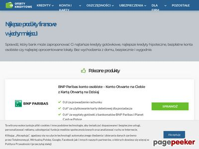 Porównywarka finansowa - Banki24.pl