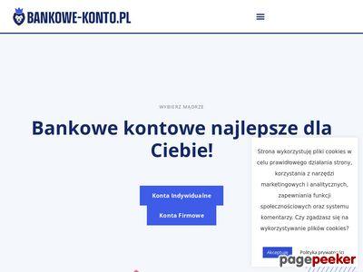 Bankowe-konto.pl - ranking najlepszych kont bankowych