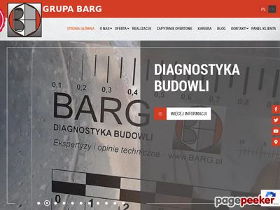 Grupa Barg - laboratorium drogowe