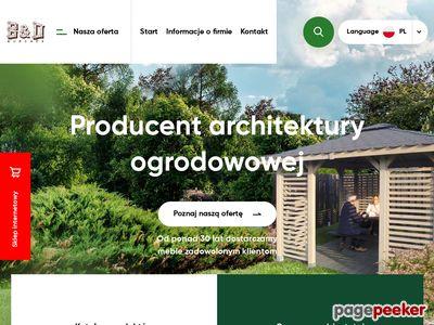 Panele ogrodowe drewniane - www.Bdburchex.com.pl