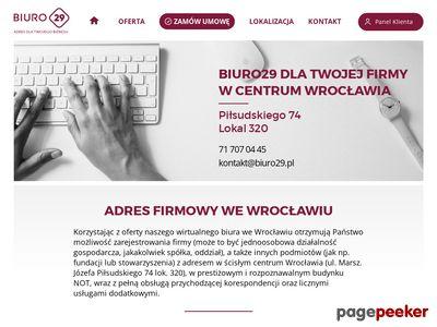 Wirtualne biura Wrocław