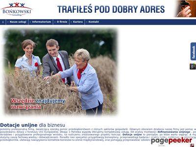 Bonkowski.co - szwajcarskie dotacje