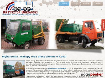 Usługi Remontowo-Budowlane Krzysztof Borowski w Łodzi
