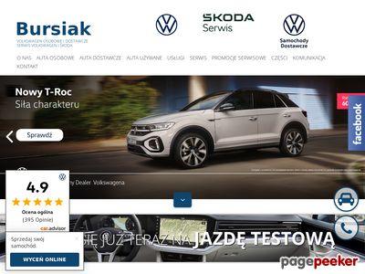 Samochody osobowe oraz dostawcze Volkswagen