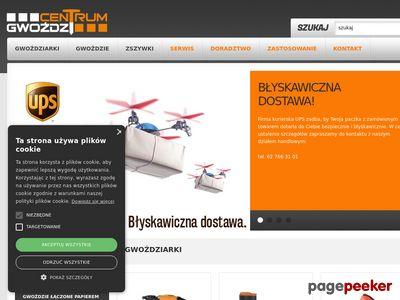 Gwoździarki do gwoździ - www.CentrumGwozdzi.pl