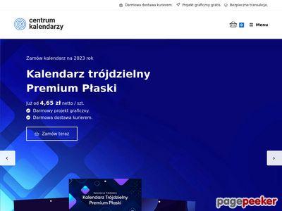 Tanie kalendarze trójdzielne - centrumkalendarzy.pl