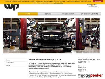 Firma BSP - Chevrolet w Łodzi