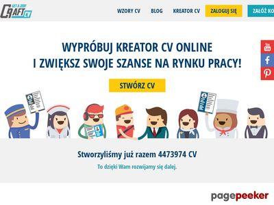 Kreator CV - wzory CV, CraftCv
