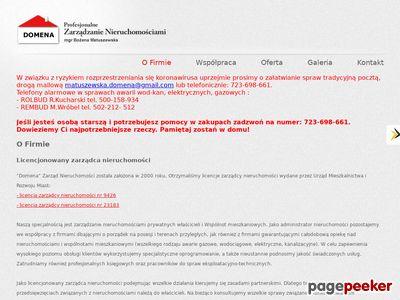 Domena - administrator nieruchomości Knurów