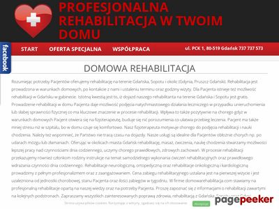 Rehabilitacja domowa Sopot