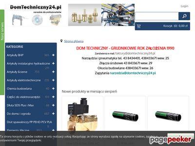 Artykuły do domu i ogrodu - www.domtechniczny24.pl