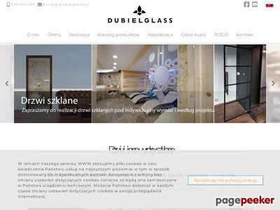 Dubiel Glass - szklane drzwi przesuwne