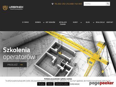 Firma dźwigowa Urbanek Kraków