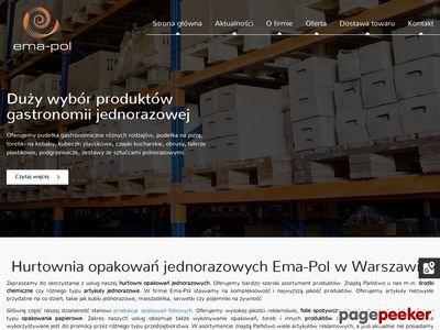 Ema-Pol - środki czystości do biur w Warszawie
