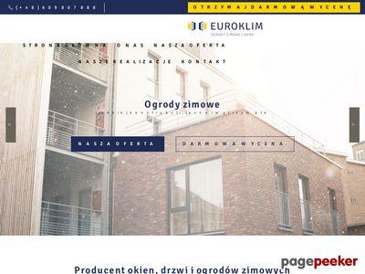 Euroklim Ogrody Zimowe i Okna