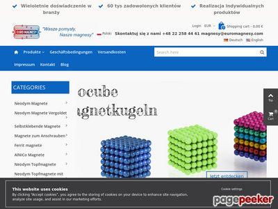 Magnesy walcowe ceramiczne i neodymowe kupisz na EuroMagnesy.com