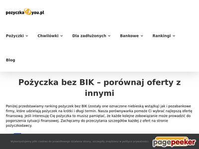 Pożyczki dla bezrobotnych - Finrank.pl