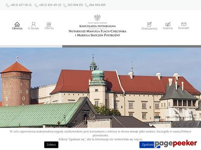 Flach-checinska.pl Notariusz Kraków